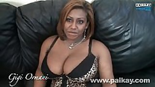 Ebony first timer bbw gigi ormani engulfing and fuc...