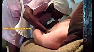 African dark maid