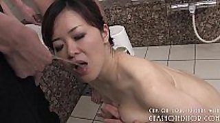 Submissive japanese slut enjoyable rod in the b...