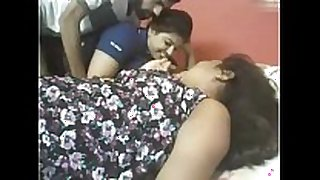 Indian 2 chubby girls with lucky fellow web camera ...