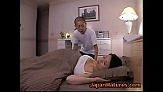Miki sato and youthful guy - sleeping (part two of 9)