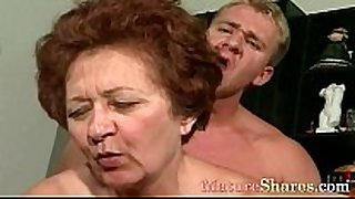 Mature woman can not live out of take in younger strapon