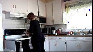 Big wazoo in kitchen