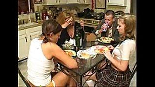 Brunette legal age teenager gia paloma and milf rebecca bardo...