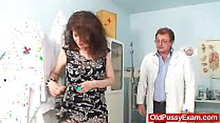 Unshaven immodest cleft bizarre karla visits a doc