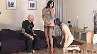 Carly's cuckold part1 - wench whore dominatrix-bitch carly - femmef...