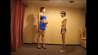 Tall japanese - trampling & mixed wrestling