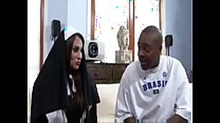 Sheila marie big milk shakes nun bonks a large black dong