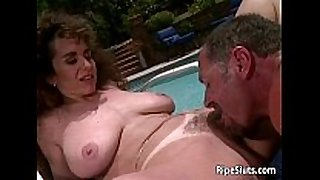 Sexy black brown milf with big hooters