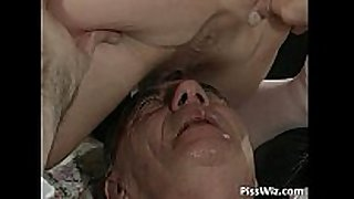 Mature couple love filthy sex and taste