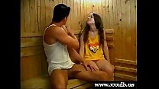 Femke receives drilled by her gym teacher