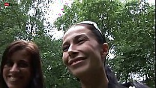 Eroberlin klara s & hana lesbian beauties in berlin