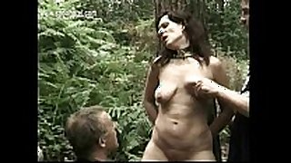 Milf serf covered in candlewax gets it spanked...