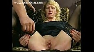 Horny slave with diminutive brassiere buddies is hit on her ribald cleft ...