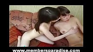 Very young legal age teenager couple 2girls 1 stud