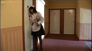 Wife, and the maid drilled at home