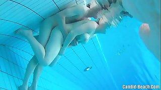 Swinger nudist couples underwater sex spy webcam