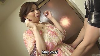 Uncensored voluptuous japanese yuko iijima in nature's garb subtitled