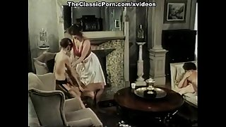Hillary summers, kyoto sun, laurien dominique in vintage porn clip
