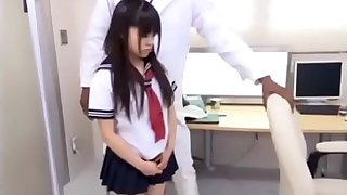 Black doctor fuck Japanese lolita Risa Omomo - Part 1