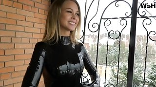 Svetlana here blacklist latex catsuit faithfulness 2