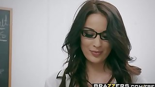 Brazzers.com - large confidential readily obtainable school - amour languages scene starring anissa kate and marc rose
