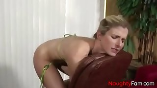 Pervert son forces anal with mommy - free mommy movies at naughtyfam.com