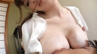 Asian Breastfeeding and Plus Sucking Spasmodical Off a lucky younger man 3