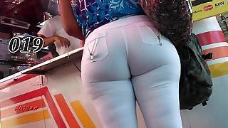 Candid Contraband Rabuda Bunduda Bucetona Butt Voyeur Culona Pawg BBW 011-020