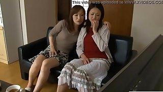 LesbianCums.com: Korean Stepmom Seduced By Lesbian Teen
