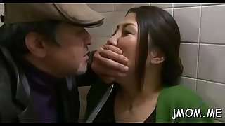 One-eyed monster hungry japanese mature sucks a big ramrod passionately