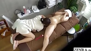 JAV CFNF sapphic kneading MILF vocal mating treatment Subtitled