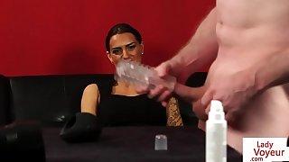 Gaffer english femdom charge instructions spasmodical sponger