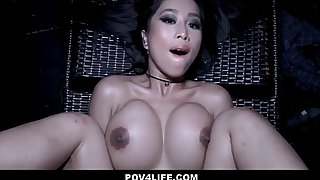 Hot Asian Teen Snowy Skinny Dipping Fucked By Neighbor POV
