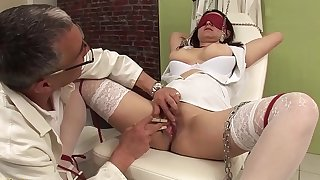 bosomy nurse bizarre fetish banged