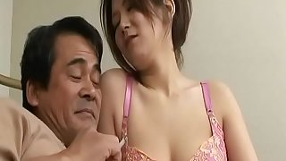 Japanese mom son and daddy and daughter in law