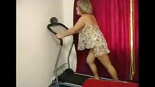 Granny steadfast anal