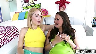 TRUE ANAL Allie Haze And Lily LaBeau Get Their Asses Pounded