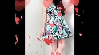Upskirt Spinny Pussy Flash funny short clip