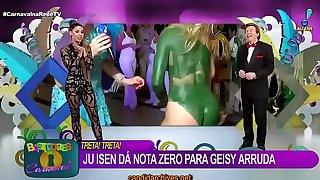 ense&ntilde_a el oyo del culo en la TV en vivo carnaval