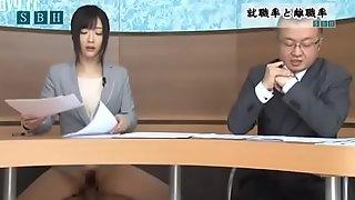 Hibiki Otsuki presenta las noticias de la mañ_ana
