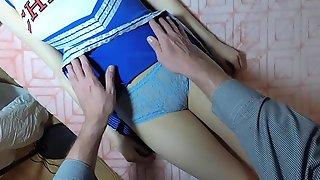 Cheerleader daughter gets chloroformed. ROLEPLAY